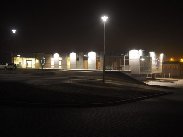 Oświetlenie szpitala lampami BlixPower UCD